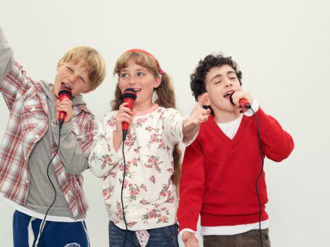corso canto per bambini