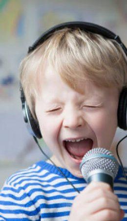 corso di canto per bambini