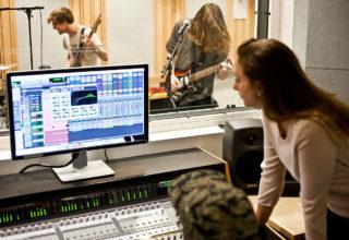 registrazione musica in studio