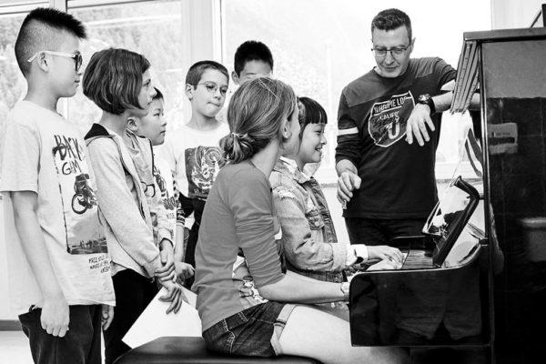 Lezioni coro voci bianche Scuola di Musica MC Milano