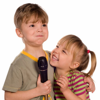 Corso musicale di canto per bambini