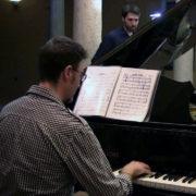 Luciano Camelia al piano