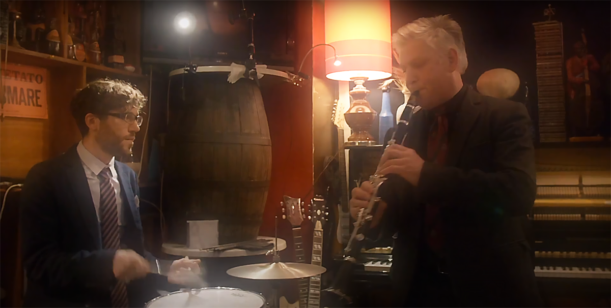Mauro Mengotto e Alfredo Ferrario in un concerto del Mauro Mengotto - Trio