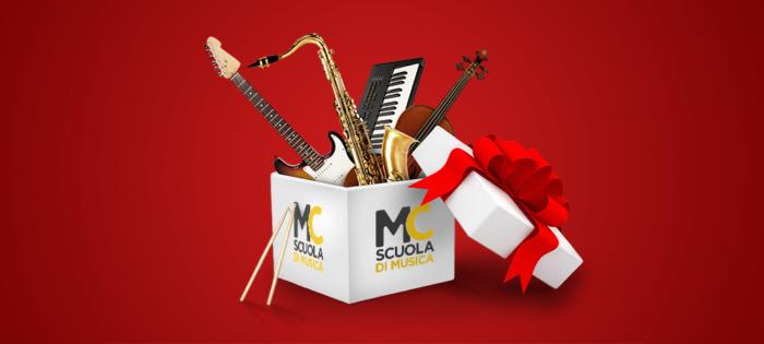 Lezioni di musica regalo di Natale