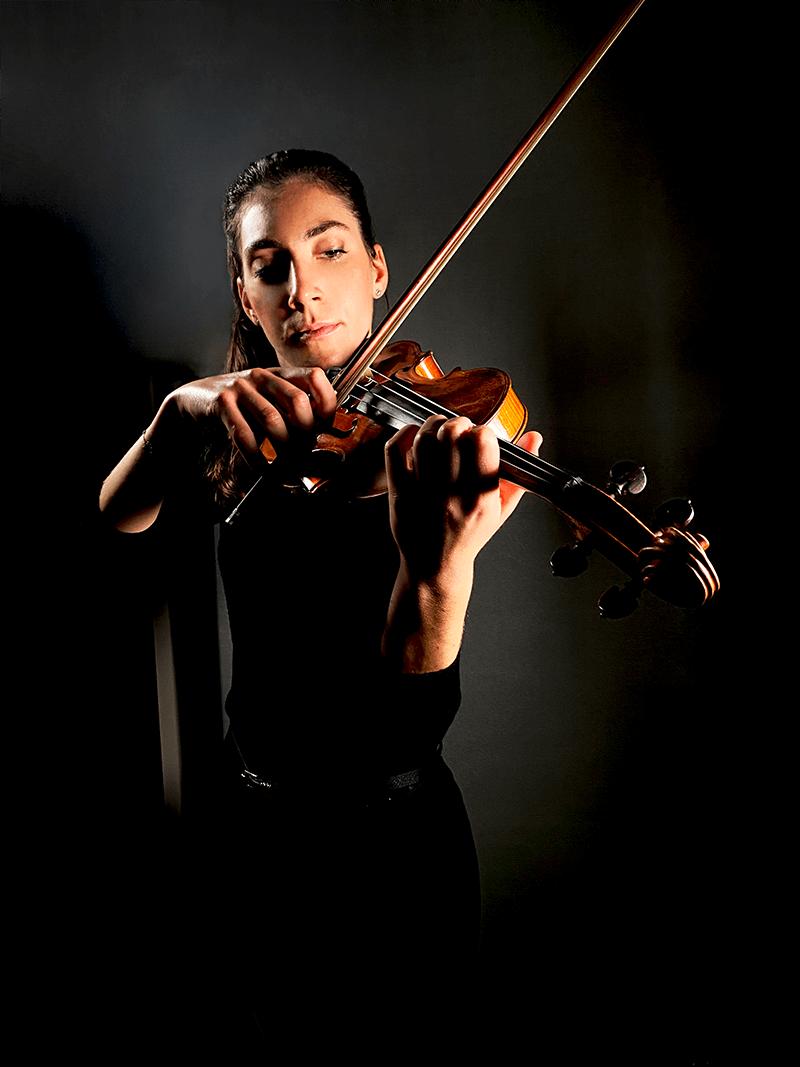 Lucia Gazzano violinista e insegnante di violino